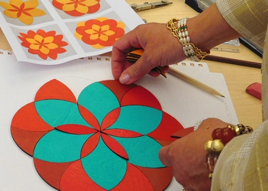 Interactive Color, Harmony & Pattern Workshop Inspires Artists