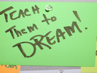Dreaming About Learning at Festival of Ideas