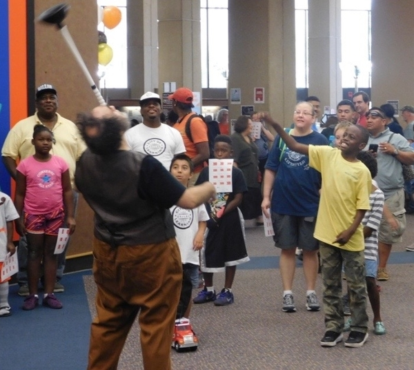 Discovery Faire a High-Flying Success at Central Library