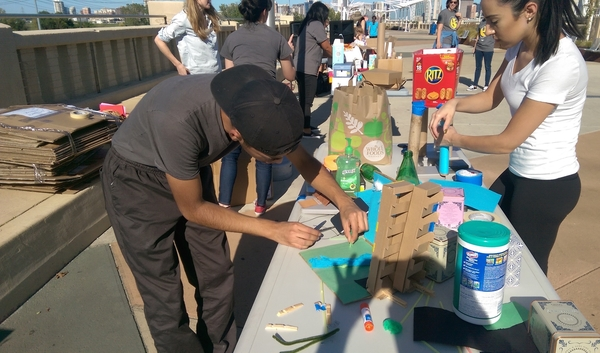Fossil Channels Cardboard Challenge To Fit Dallas Trinity River