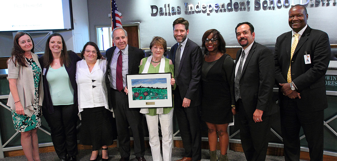 Big Thought Selected by Dallas ISD as Recipient of 2017 Jeanne Fagadau Leading the Charge Award