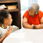 Students work with Writer's Garret to interview senior citizens at West Dallas Community Center