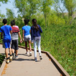 Taking a walk through the Trinity River Audubon Center at Pleasant Grove SOARS!