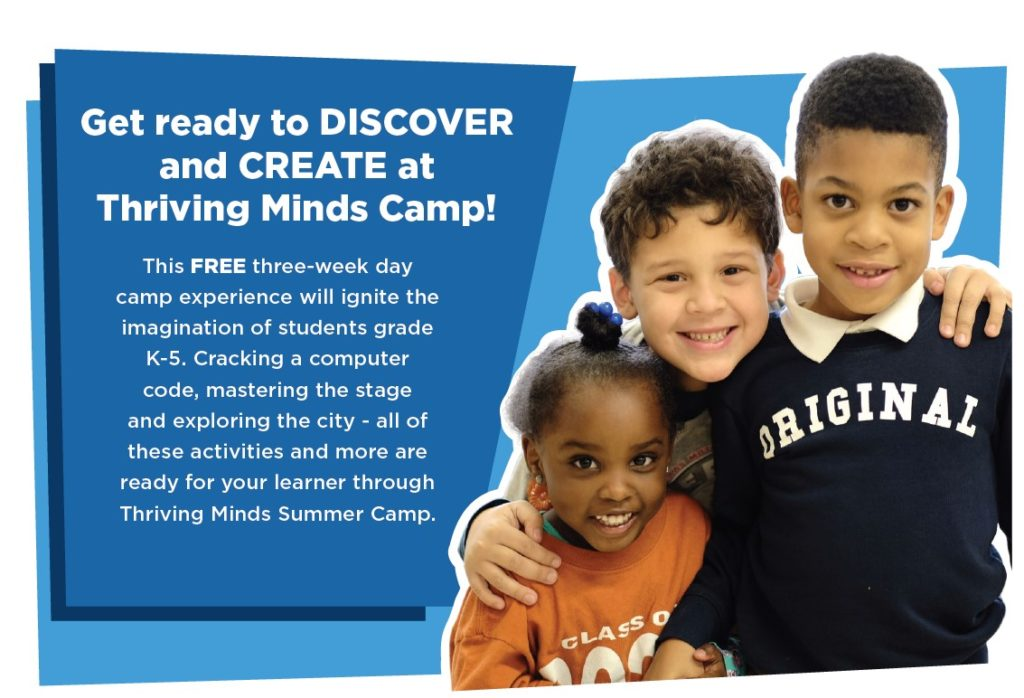 Thriving Minds Summer Camp Details