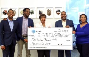 AT&T Donation to Creative Solutions