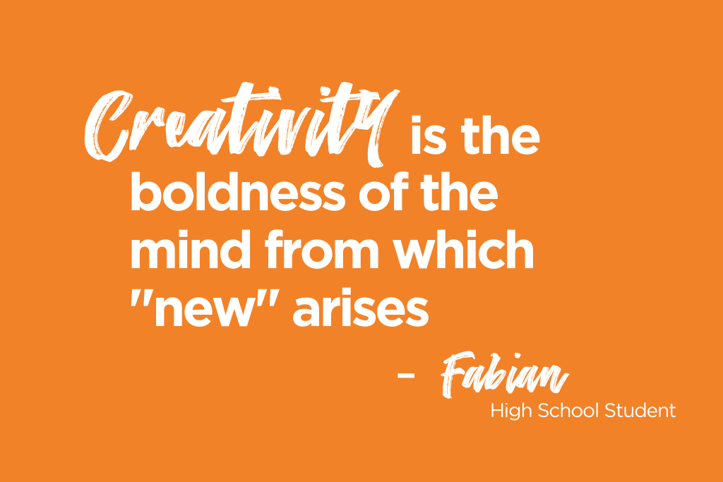 The Value of Creativity: A Student's Perspective