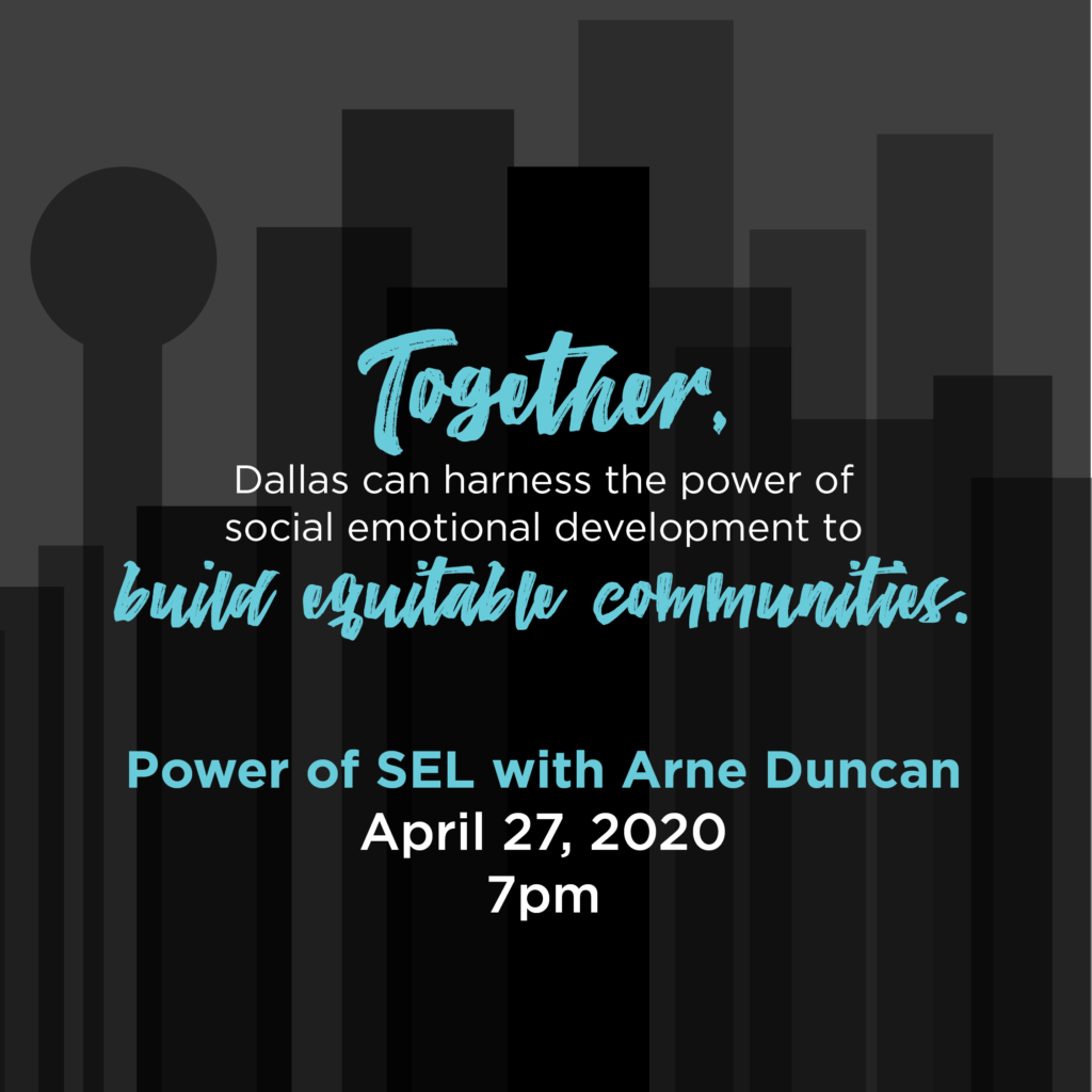 Power of SEL with Arne Duncan event