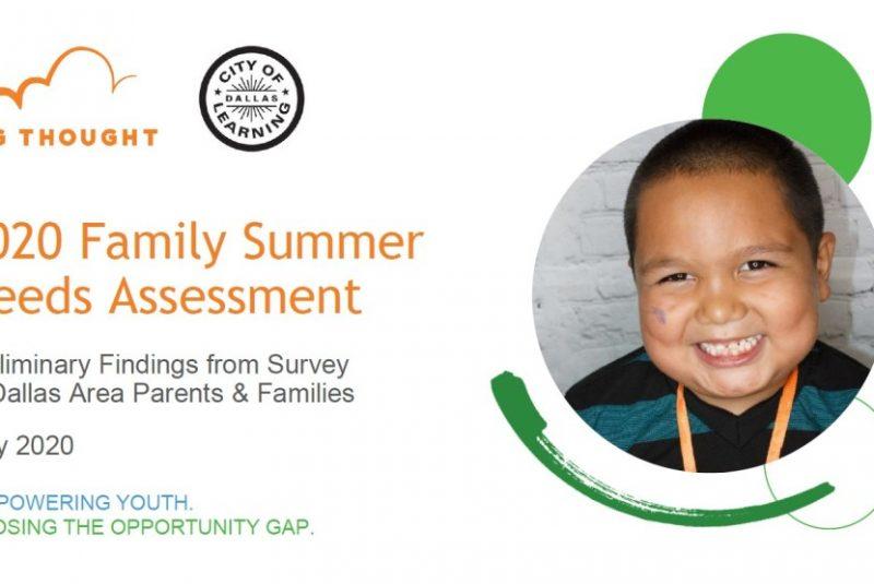 2020 Family Summer Needs Survey Analysis