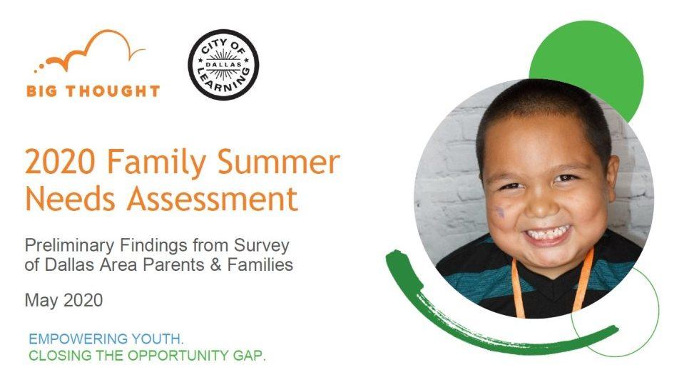 Family Summer Survey Analysis
