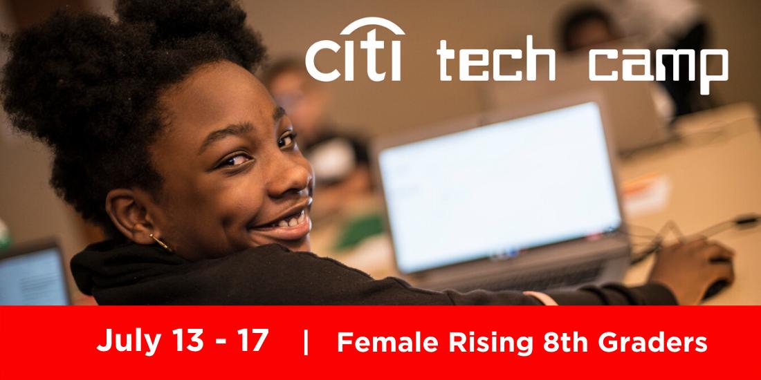Citi Tech Camp July 13-17