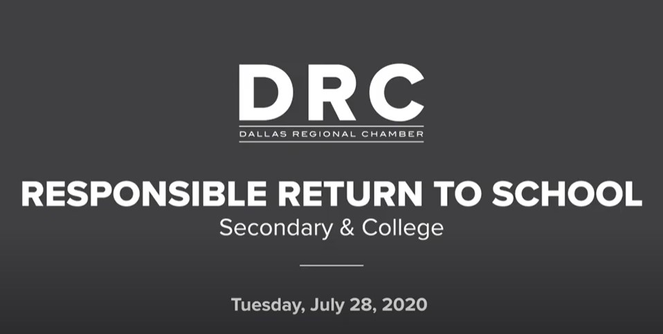 DRC Responsible Return to School