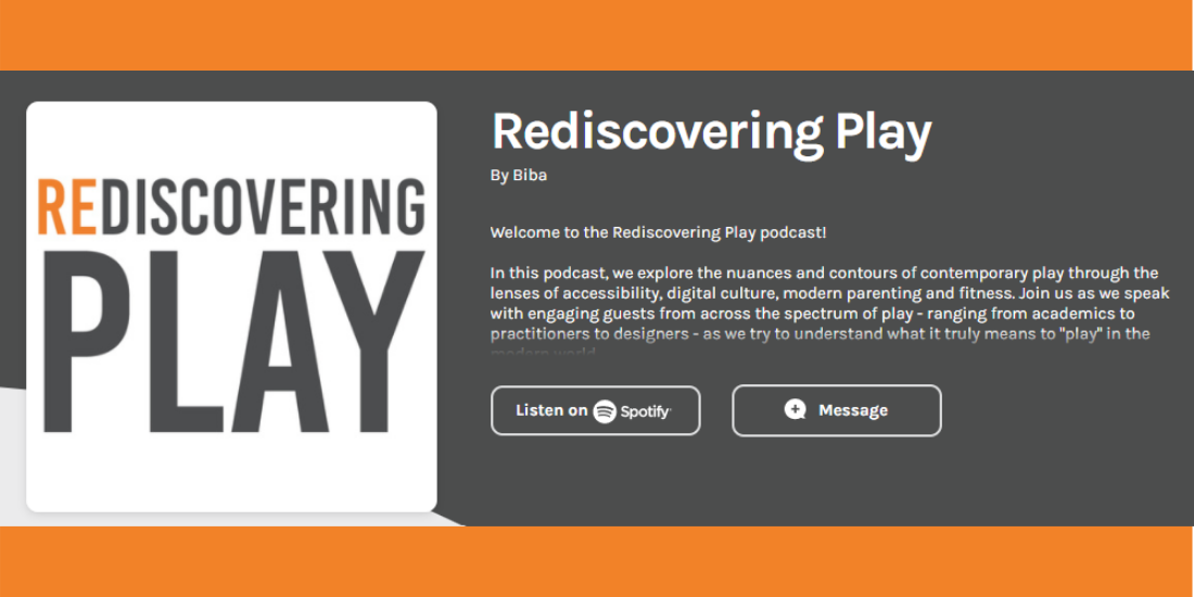 rediscovering play podcast