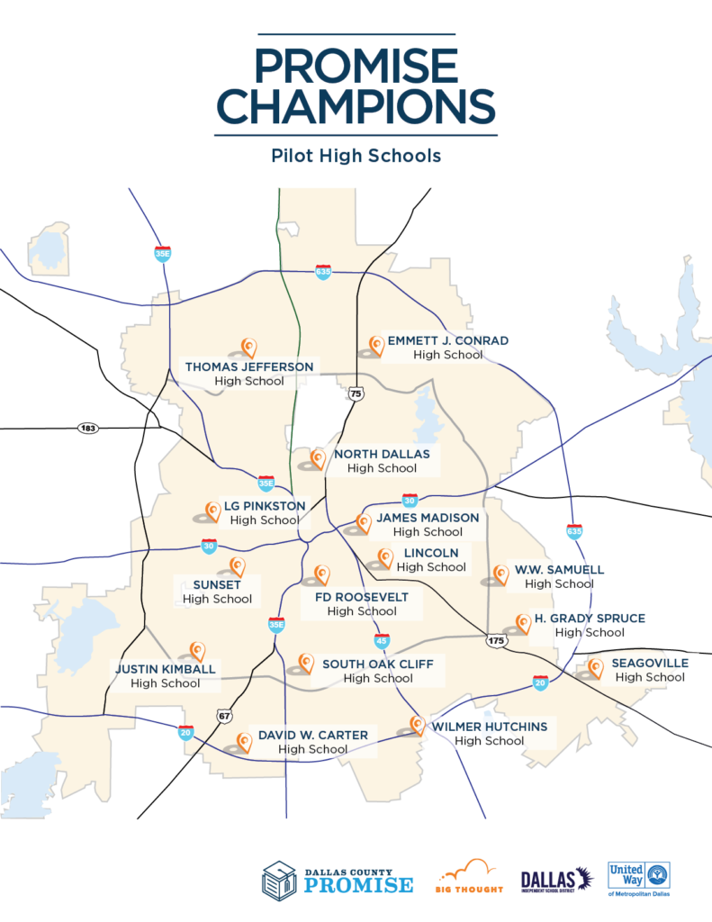 Dallas Country Promise Champion Map