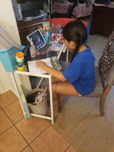 Cara Mia at home learning